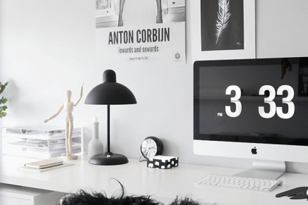 Office: a monochrome workspace