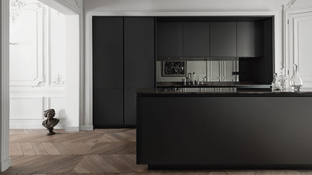 D Design Blog | Black kitchen