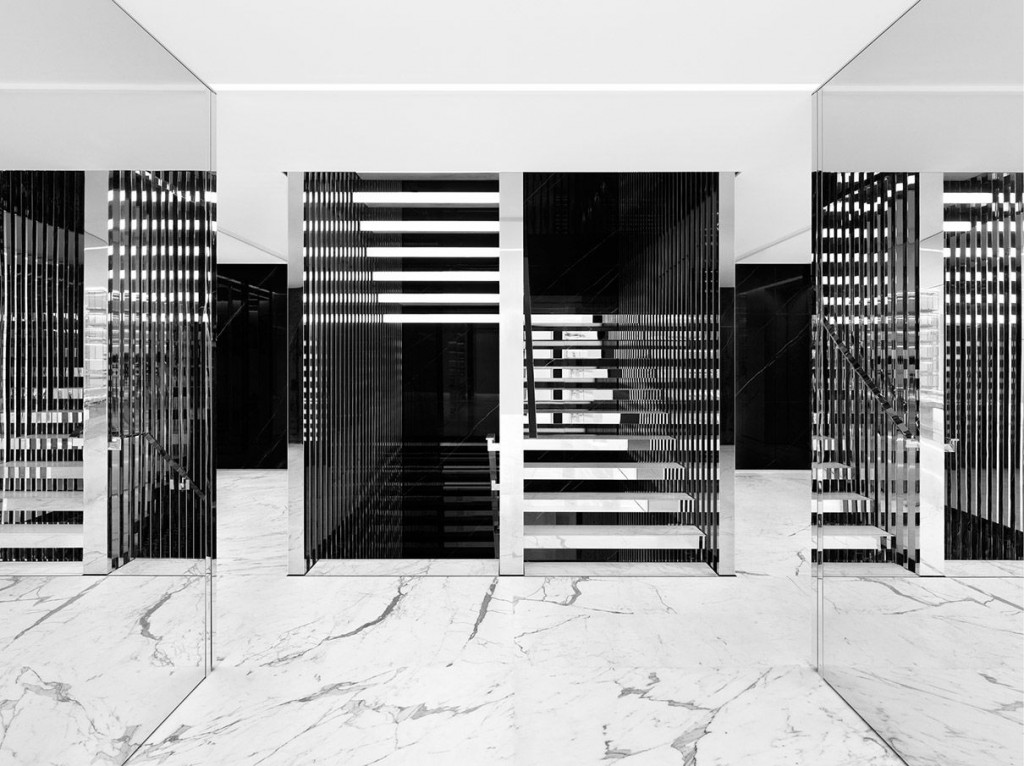 D Design Blog | Interior Saint Laurent by Hedi Slimane
