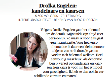 Droika Engelen in Happy Home