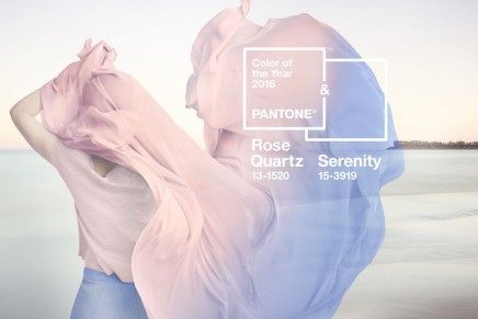 Pantone Color of the year: Rose Quartz and Serenity