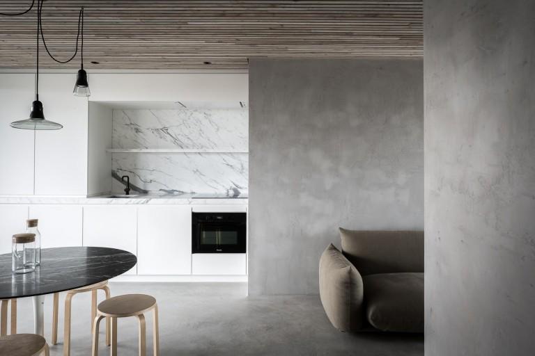 D Design Blog |grey kitchen