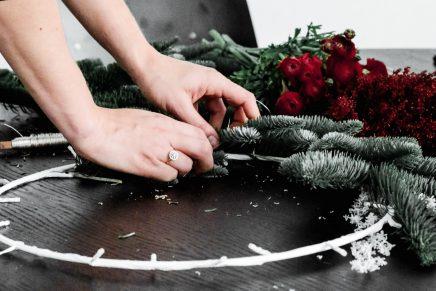 IKEA x DIY kerstkrans